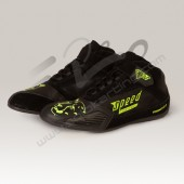 BOTINES SPEED KS-3 NEGRO-AMARILLO FLUOR