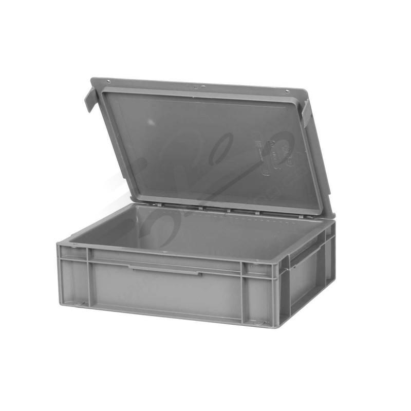 Caja de plastico de mecanico con tapa y cierrre solokarting - Caja plastico con tapa ...