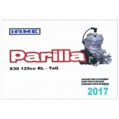 REPUESTOS IAME PARILLA X30 JUNIOR-SENIOR