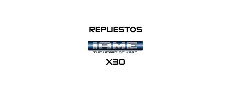 REPUESTOS X30