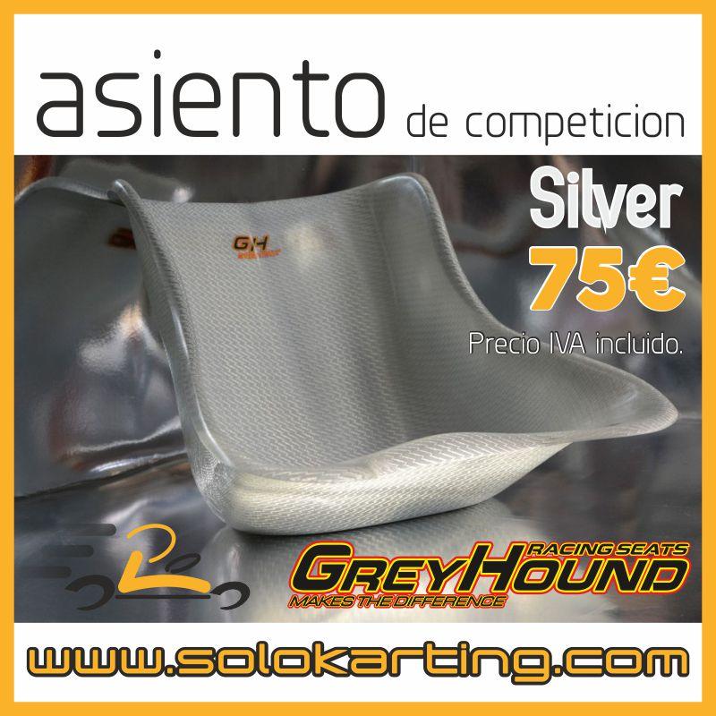 ASIENTO GREYHOUND SILVER.
