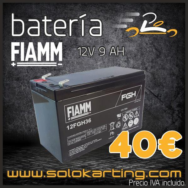 BATERIA FIAMM PARA KARTS AUTOMÁTICOS