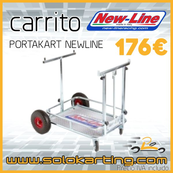Carrito portakart Newline