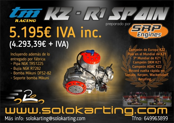 MOTOR TM KZ-R1 BY SRP ENGINES